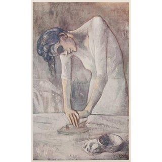Picasso Woman Ironing Period Lithograph