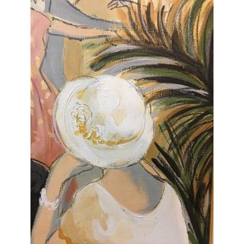 """Original """"Vintage Wine"""" Painting by Isaac Maimon For Sale - Image 9 of 11"""