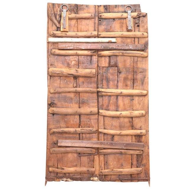 Antique Carved Moorish Door For Sale - Image 4 of 7