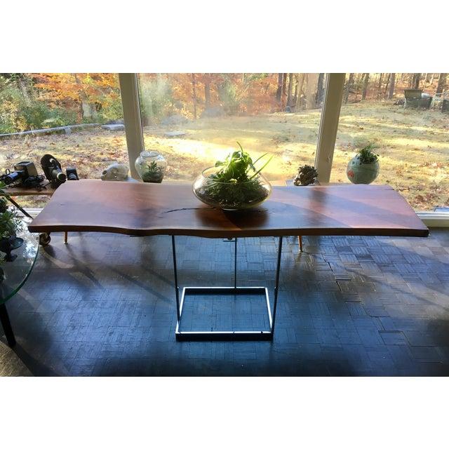 Live Edge Walnut Table Desk - Image 10 of 10