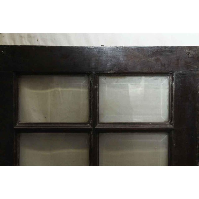 Beveled Glass 12-Panel Window For Sale - Image 5 of 5