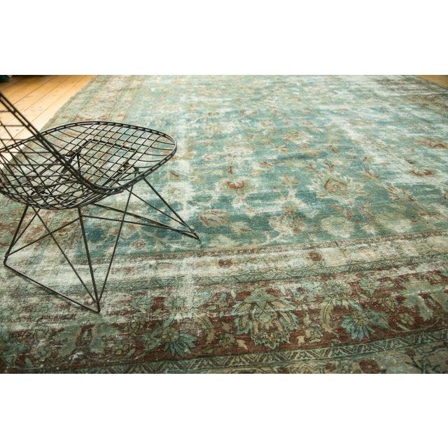 "1930s Vintage Kerman Carpet - 9'9"" x 13'2"" For Sale - Image 5 of 10"