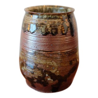 Handmade Studio Pottery Ceramic Stoneware Vessel