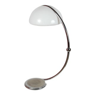 Italian Serpente Floor Lamp by Elio Martinelli For Sale