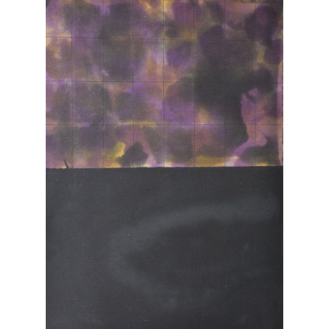 "Yutaka Yoshinaga Color Etching w/ Spit Bit Aquatinti c.1996 S/N Edition of 40 Plate dimensions 9.5"" x 13"". The paper..."