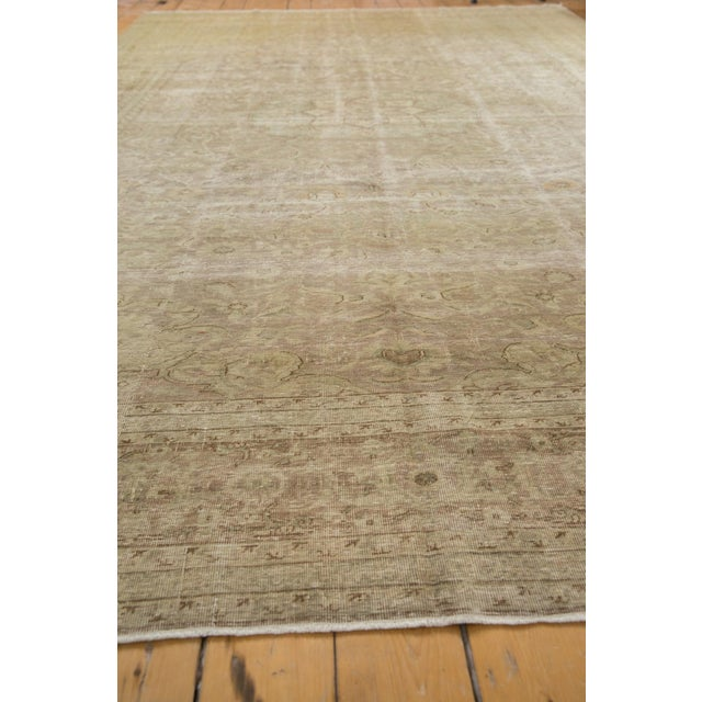 "Old New House Vintage Sivas Carpet - 8'4"" X 12'6"" For Sale - Image 4 of 13"