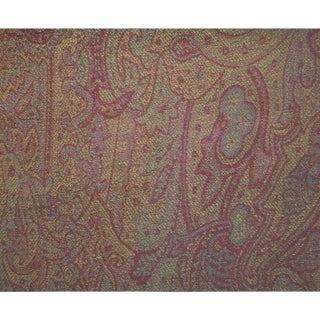 Berkeley Wool Paisley CL Aubergine by Ralph Lauren Book: Balmoral Paisleys Pattern No. Lcf66521f For Sale