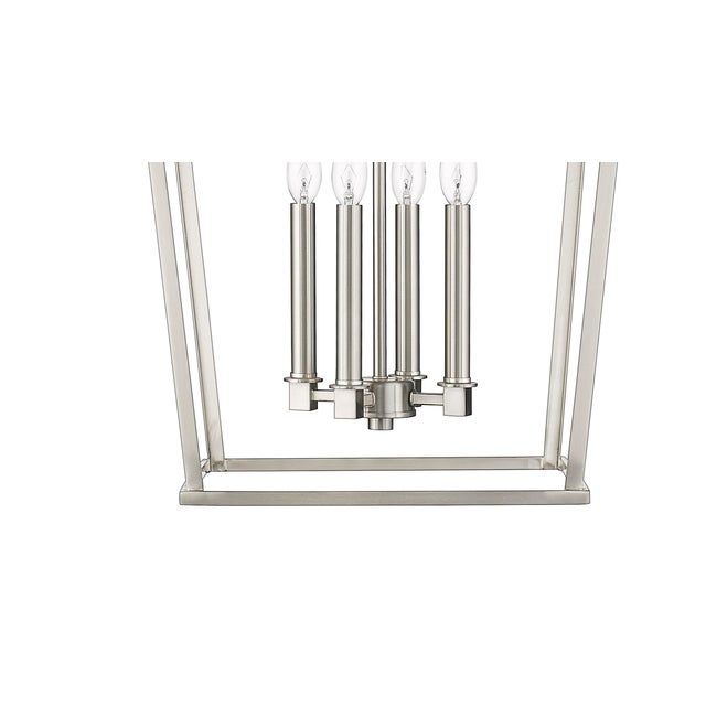A seamless blending of rustic and modern styles make this an easy addition to any room. Takes 60W bulb. Shipped with 5...