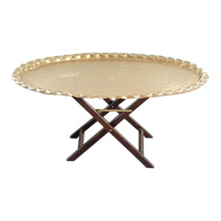 1960s Moroccan Style Tea Table For Sale