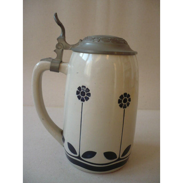 Art Nouveau German Beer Stein by Peter Behrens For Sale - Image 4 of 12