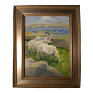 """Painting """"Content in Connemara"""" by Cynthia Perryman For Sale"""