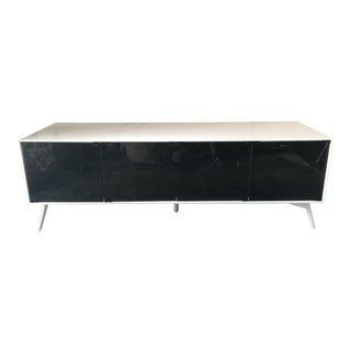 Black & White Modern Modloft Media Cabinet