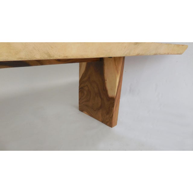 Long Live Edge Organic Modern Albezia Table For Sale In Los Angeles - Image 6 of 11