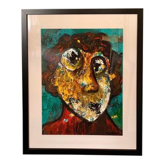 Colorful Portrait Painting For Sale