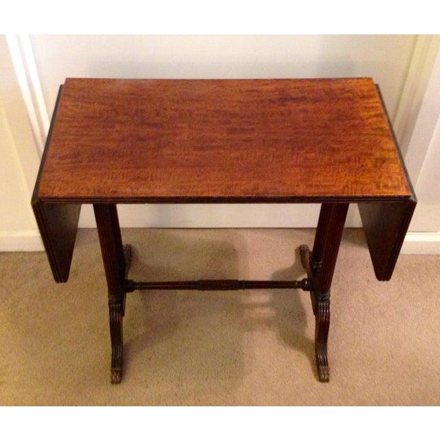 Hollywood Regency Vintage John Wanamaker NY Regency Style Burl Walnut Coffee Table For Sale - Image 3 of 8