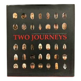 """Two Journeys"" the Masks of Alphonse Pinart Hardcover Book For Sale"