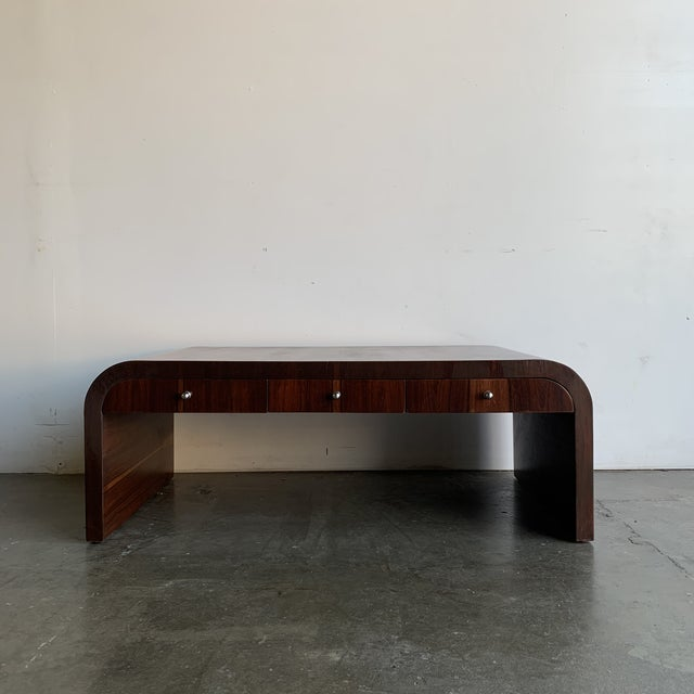 Low Profile Art Deco Coffee Table For Sale - Image 12 of 13