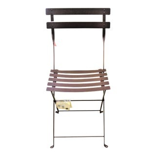 Fermob Bistro Russet Brown Chair For Sale