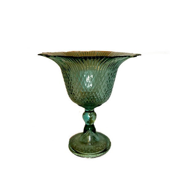 Pressed Glass Pedestal Bowl - Image 3 of 5