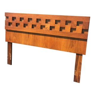 Brutalist Lane Staccato Queen Headboard For Sale