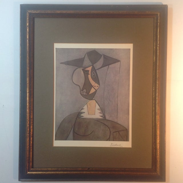 Picasso Hand Signed Abstract Print - Image 2 of 4