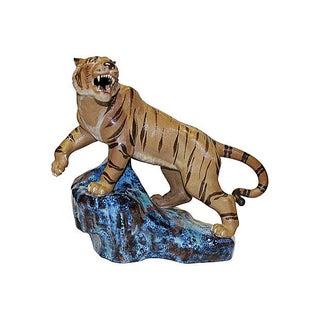 Porcelain Tiger For Sale