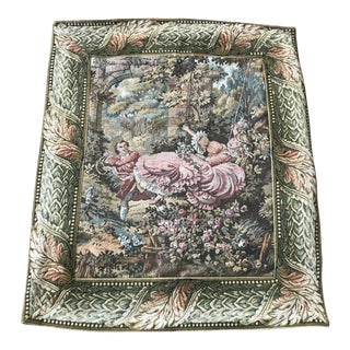 French Style Tapestry Textile Art For Sale