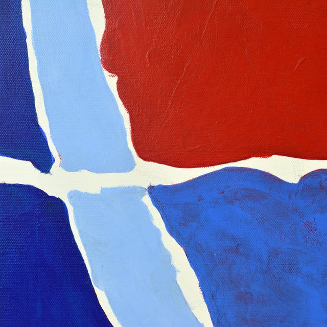 """""""December"""" Contemporary Abstract Painting - Image 8 of 11"""