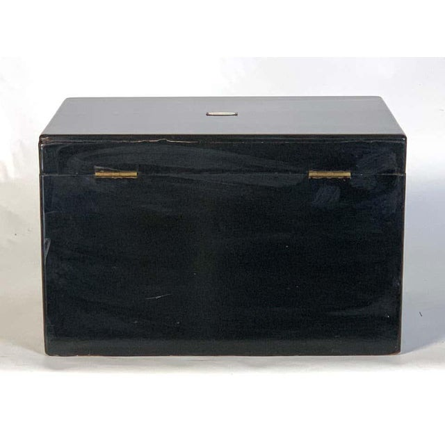 Late 19th Century Chinese Export Cigar Humidor For Sale - Image 5 of 13