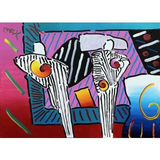 Peter Max Time Line Degas Man, Version I, #5 2003 For Sale