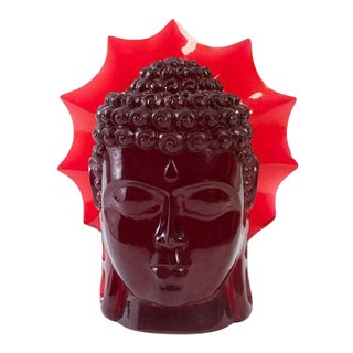 Phillips Collection Ruby Buddha Head For Sale