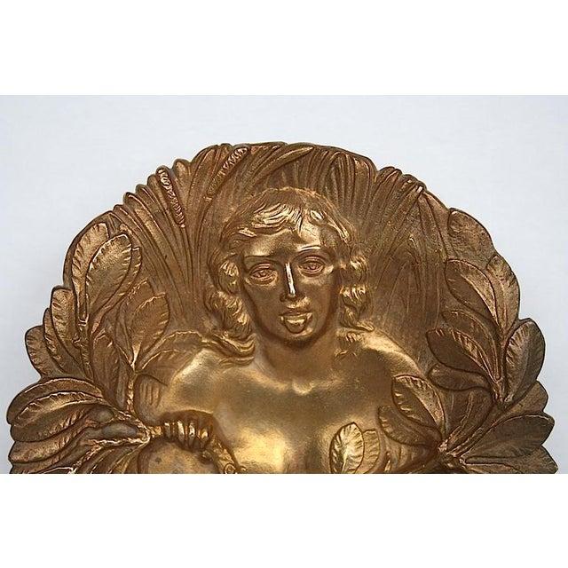 Art Nouveau Bronze Art Nouveau Trinket Tray For Sale - Image 3 of 9