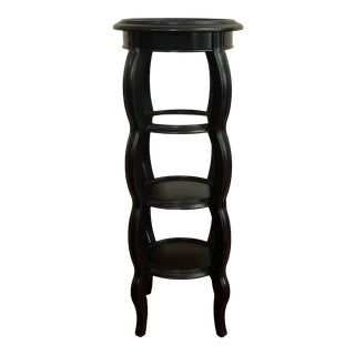 Four Tier Contemporary Round Plant Stand For Sale