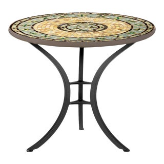 """Malibu 30"""" Bistro Table with Black Base For Sale"""