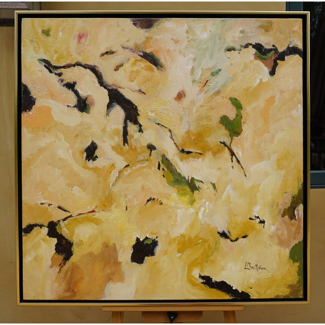 "Laurie MacMillan ""Taking Flight"" Abstract Painting For Sale In Los Angeles - Image 6 of 6"