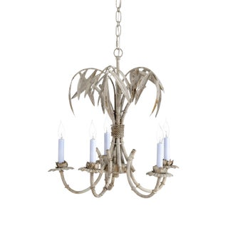 Chelsea House Inc Bamboo Grove Chandelier For Sale