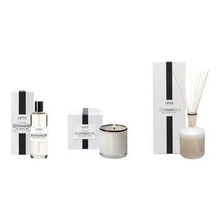 Champagne Signature Candle, Classic Diffuser, and Room Mist Gift Set - Set of 3 For Sale