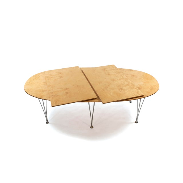 1960s Danish Modern Bruno Mathsson Conference or Dining Table For Sale - Image 5 of 12