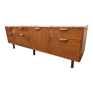 Harvey Probber Mid-Century Modern Long Office Credenza/Filing Cabinet For Sale