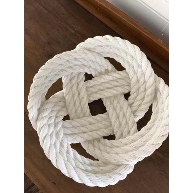 Cast Ceramic Rope Bowl - Image 4 of 4