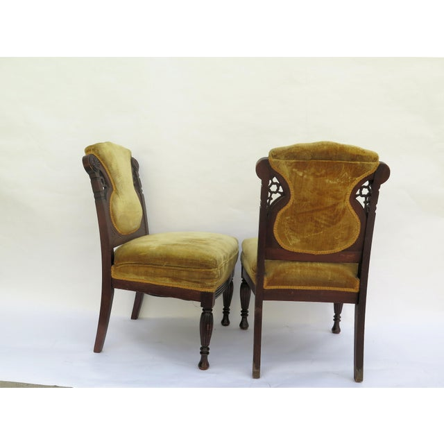19th Century French Side Chairs - A Pair - Image 4 of 5