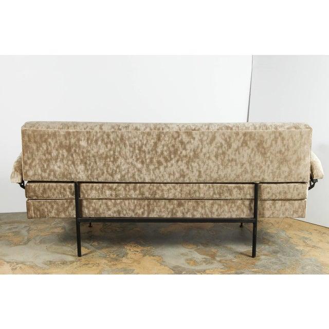 Mid-Century Modern Italian Mid-Century Osvaldo Borsani Style Sofa / Daybed For Sale - Image 3 of 12