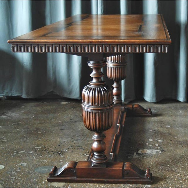 Brown Library Table by Axel Einar Hjorth for Nk For Sale - Image 8 of 11