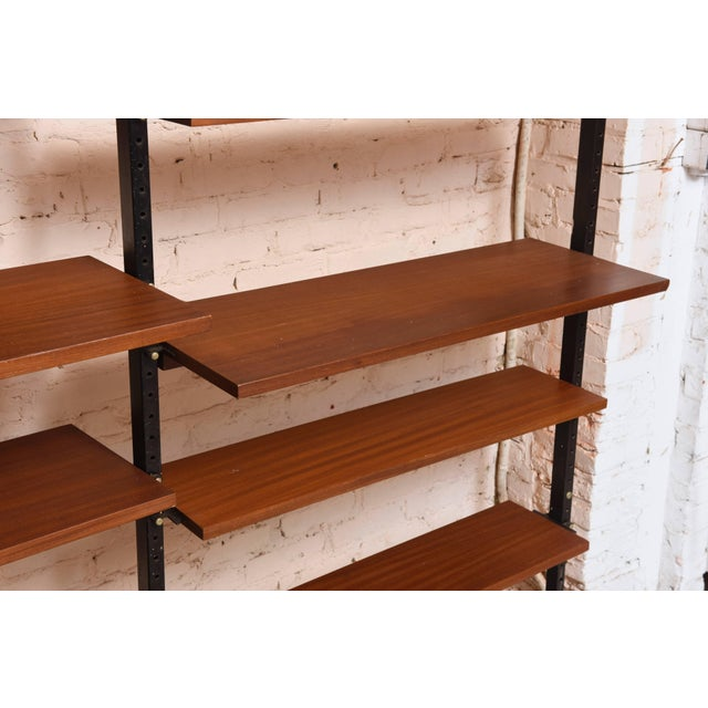 Mid-Century Modern Danisch Modular Bookcase Royal System Wall Unit For Sale - Image 3 of 9