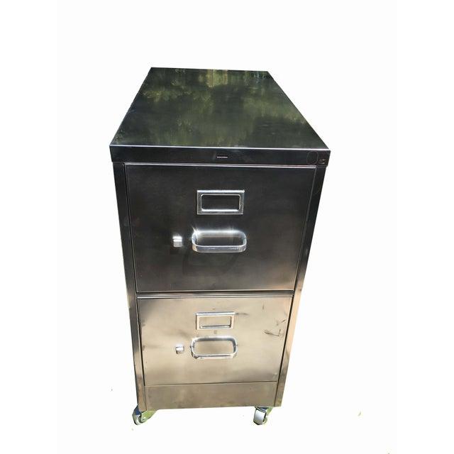 Vintage Steel File Cabinet - Image 2 of 5