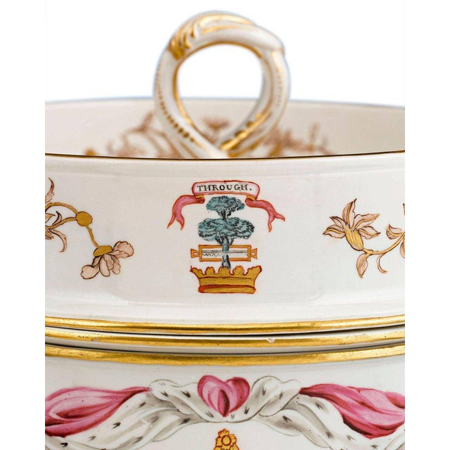 Royal Crown Derby Porcelain Duke of Hamilton Porcelain Service by Derby and Duesbury For Sale - Image 4 of 7