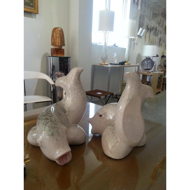 Koi Fish Bookends by Saco of Italy for Ovington's - a Pair For Sale - Image 9 of 12