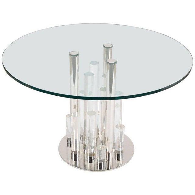 Charles Hollis Jones Skyscraper Table For Sale - Image 12 of 12