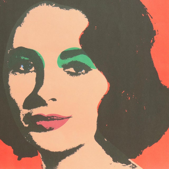 1960s Liz', After Andy Warhol, 1969; Elizabeth Taylor, Hollywood, Pop Art, Chelsea, New York, the Factory For Sale - Image 5 of 8