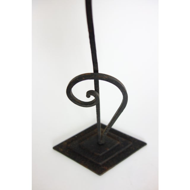 Modern Cast Iron Jewelry Display For Sale - Image 3 of 5